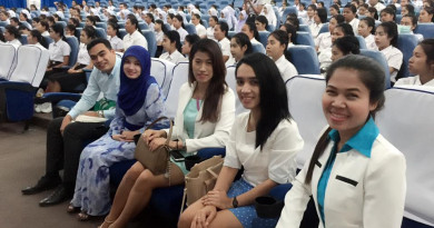 ปฐมนิเทศนักศึกษาชั้นปีที่ 1 ประจำปีการศึกษา 2559